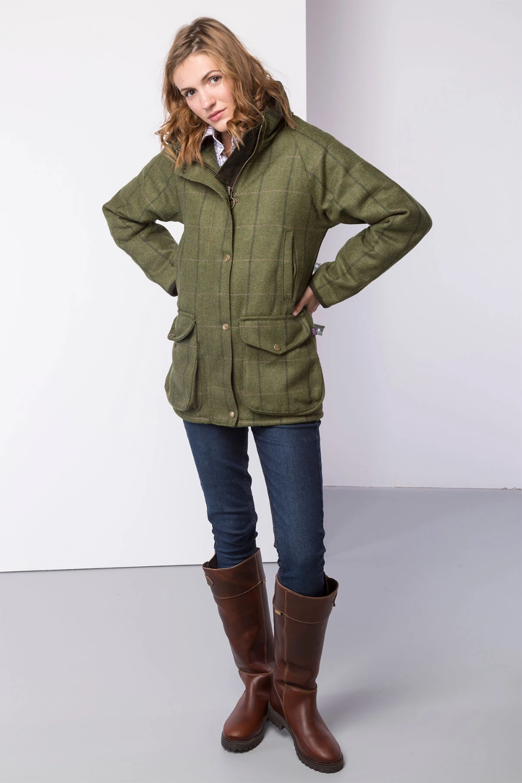 Ladies Fleece Jacket Rydale Long Sleeve Casual Outdoor Women/'s Country Coat