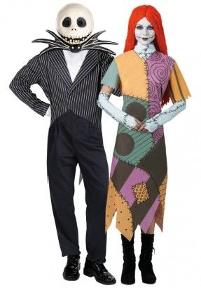 nightmare before christmas couple costume