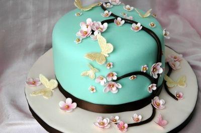 Cherry Blossom Mother S Day Cake For My Mom Pastel Dia De Las