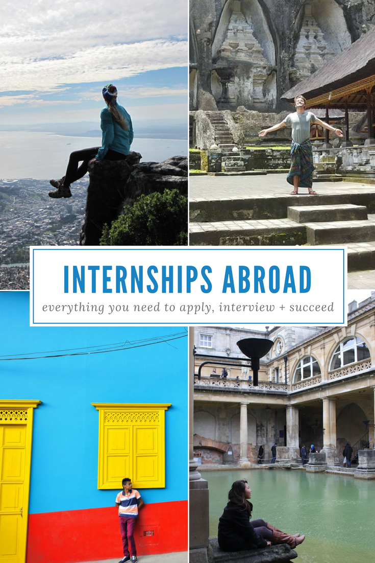 How to Apply for an Internship Abroad Volunteer abroad
