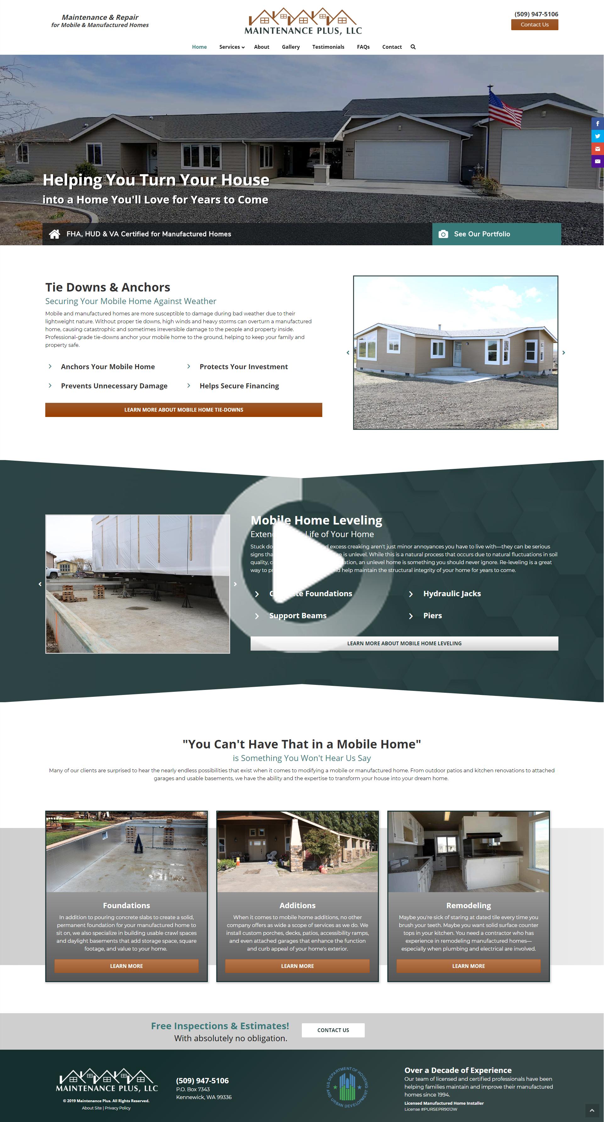Construction Website Design In 2020 Real Estate Website Design Real Estate Web Design Digital Marketing Design