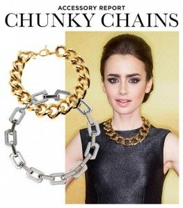 Vintage Chunky Chain Necklace FripperyVintage.com