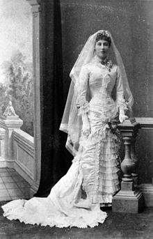 The First Documented Instance Of A Princess Who Wore White Wedding Gown For Royal