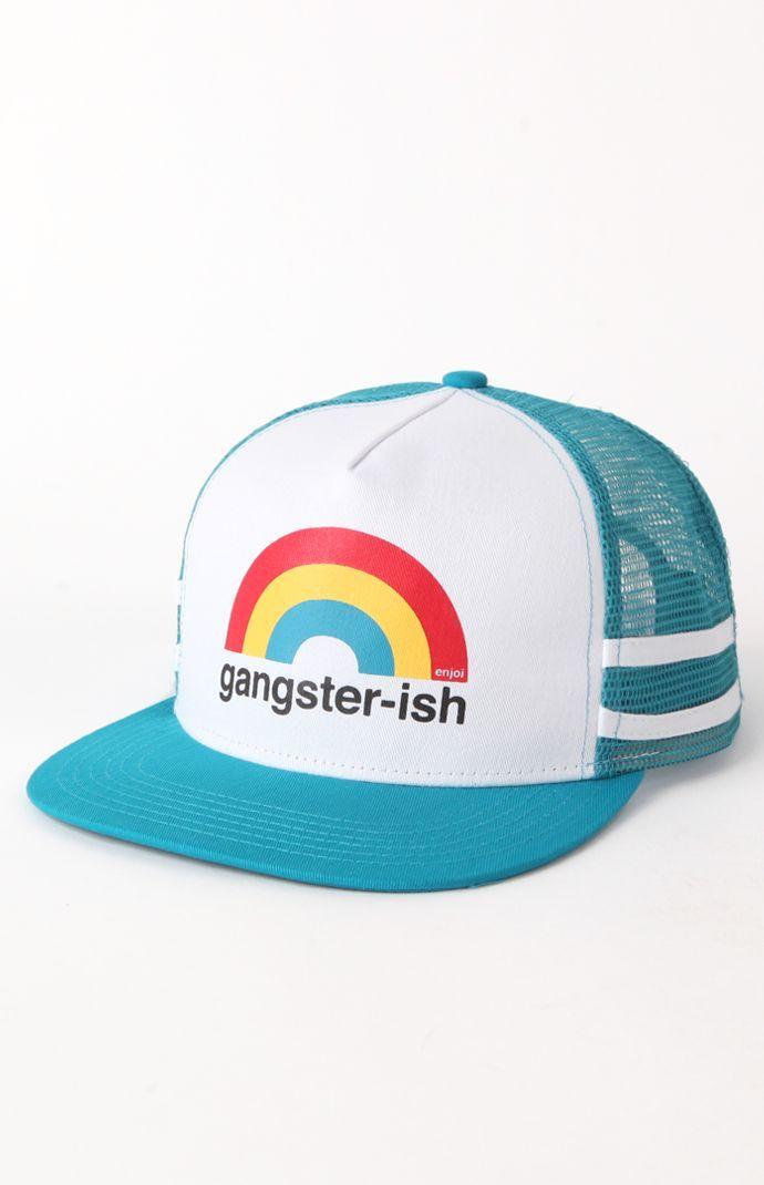 Mens Enjoi Backpack - Enjoi Gangster-ish Trucker Hat  91f1a5b8add8