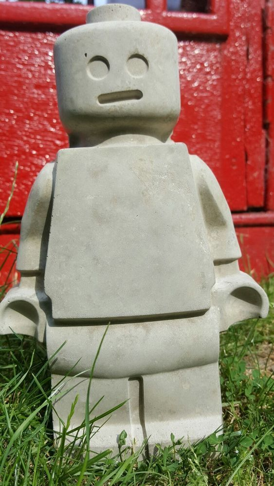 Garden ornament lego man great fun for kids to paint decorate garden ornament lego man great fun for kids to paint decorate yourself lego solutioingenieria Choice Image