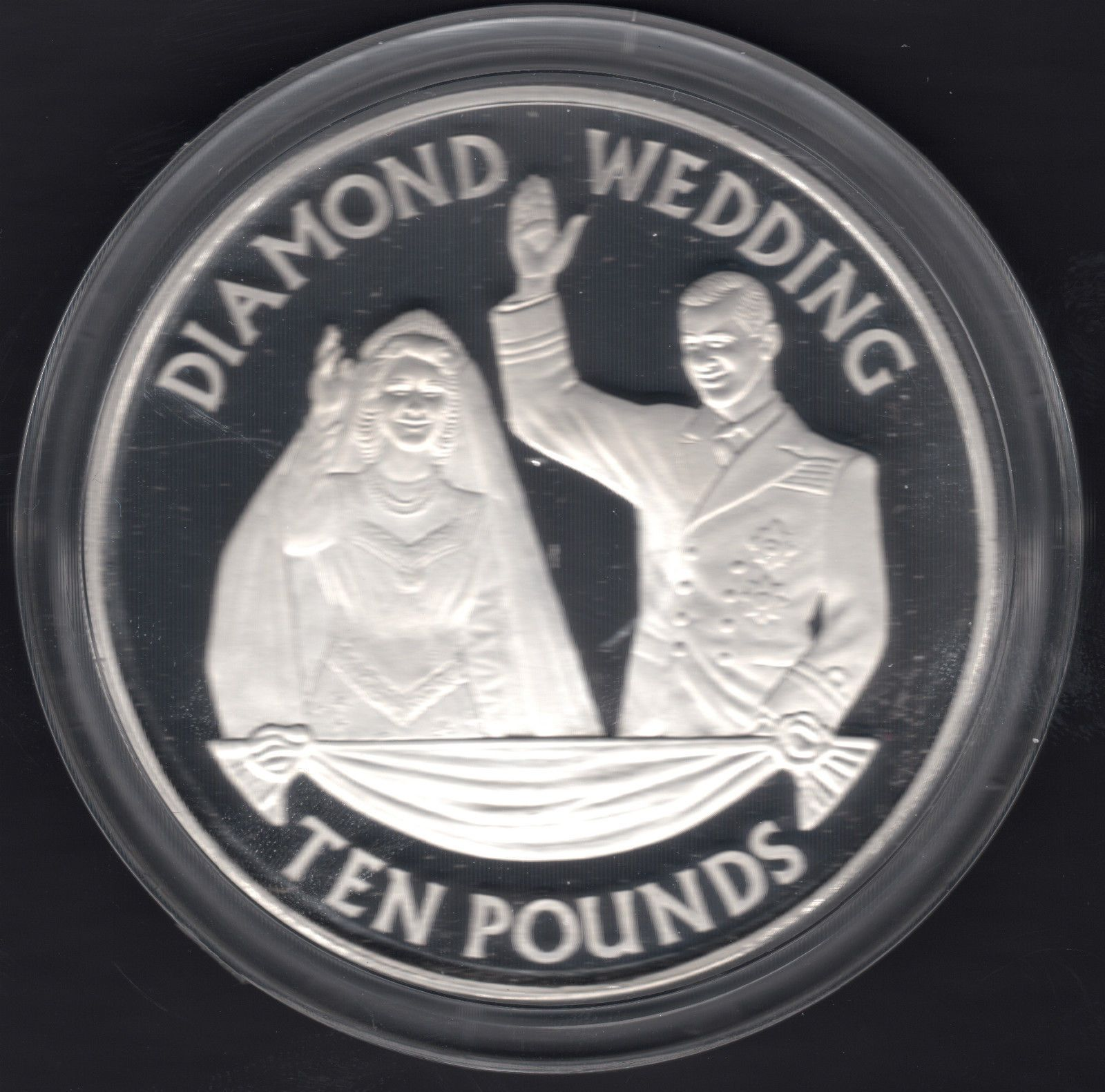 coin wedding proof platinum the royal piedfort anniversary coverlimited of product pnc