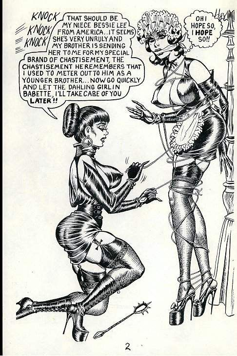 Bondage cartoon ward photo 266