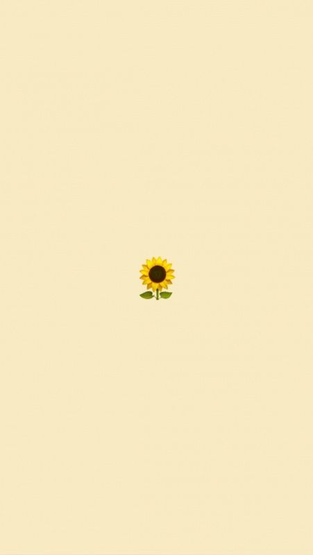 Pin By Brittany Horne On Fondos De Pantalla Tumblr Cute Simple Wallpapers Iphone Wallpaper Yellow Sunflower Wallpaper