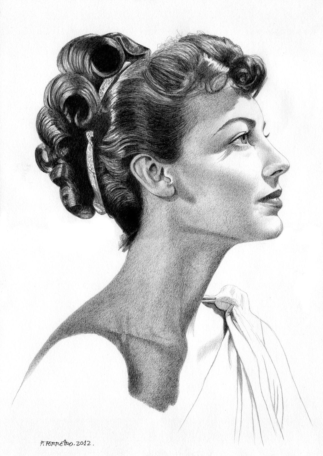 любимчики профиль портрет карандашом картинки торчащими сосками показывает