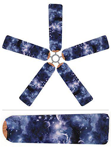 Outer Space Ceiling Fan Blade Covers Fan Blade Designs http://www.amazon.com/dp/B00MP1JZ62/ref=cm_sw_r_pi_dp_k65Qvb0TDFD6A
