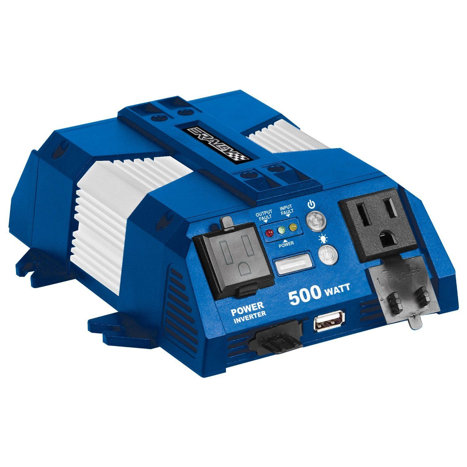 Rally Marine Grade 500W Power Inverter with USB Charging