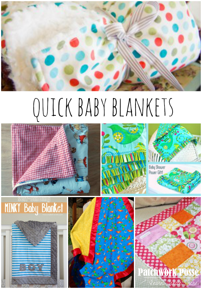 Simple And Quick 30 Minute Baby Blankets Baby Blanket
