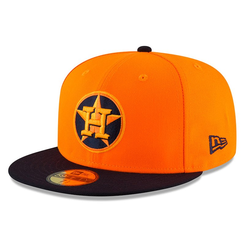 separation shoes 7d7fd 33fda Houston Astros New Era 2018 Players  Weekend On-Field 59FIFTY Fitted Hat –  Orange Navy