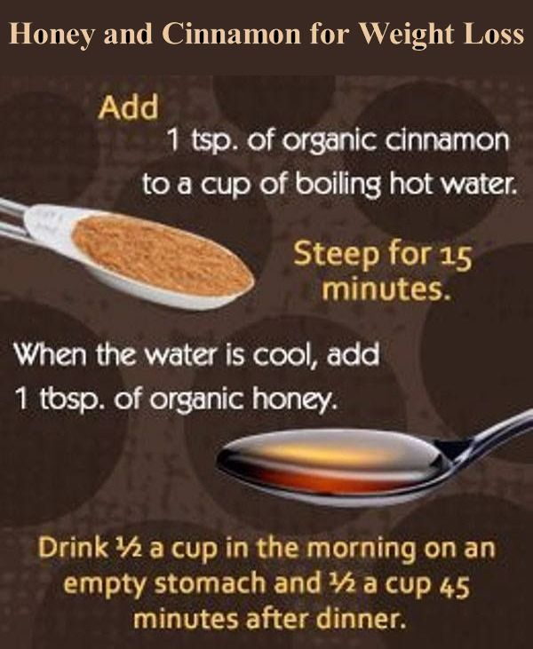 ceylon cinnamon and raw honey weight loss
