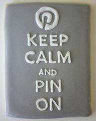 Keep Calm & Pin On !