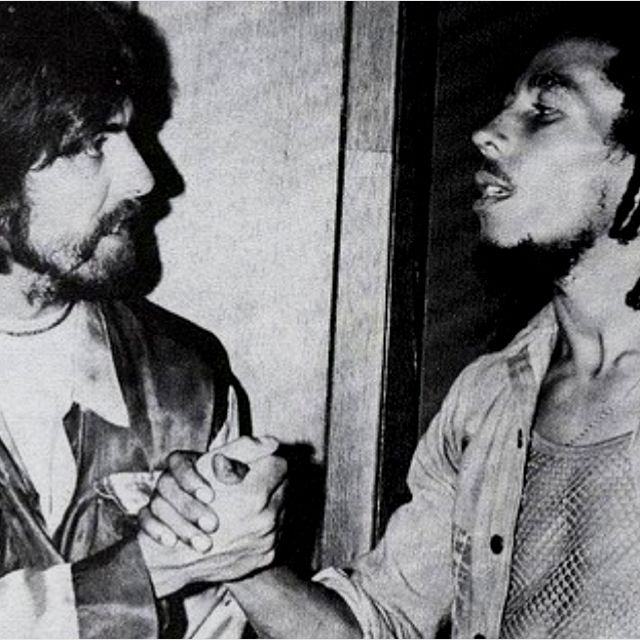 George Harrison and Bob Marley. Epic.