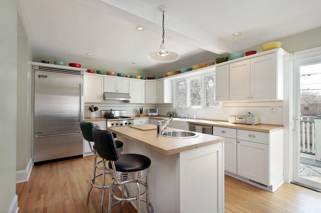 Cocinas Modernas Con Isla Central Y Desayunador Buscar