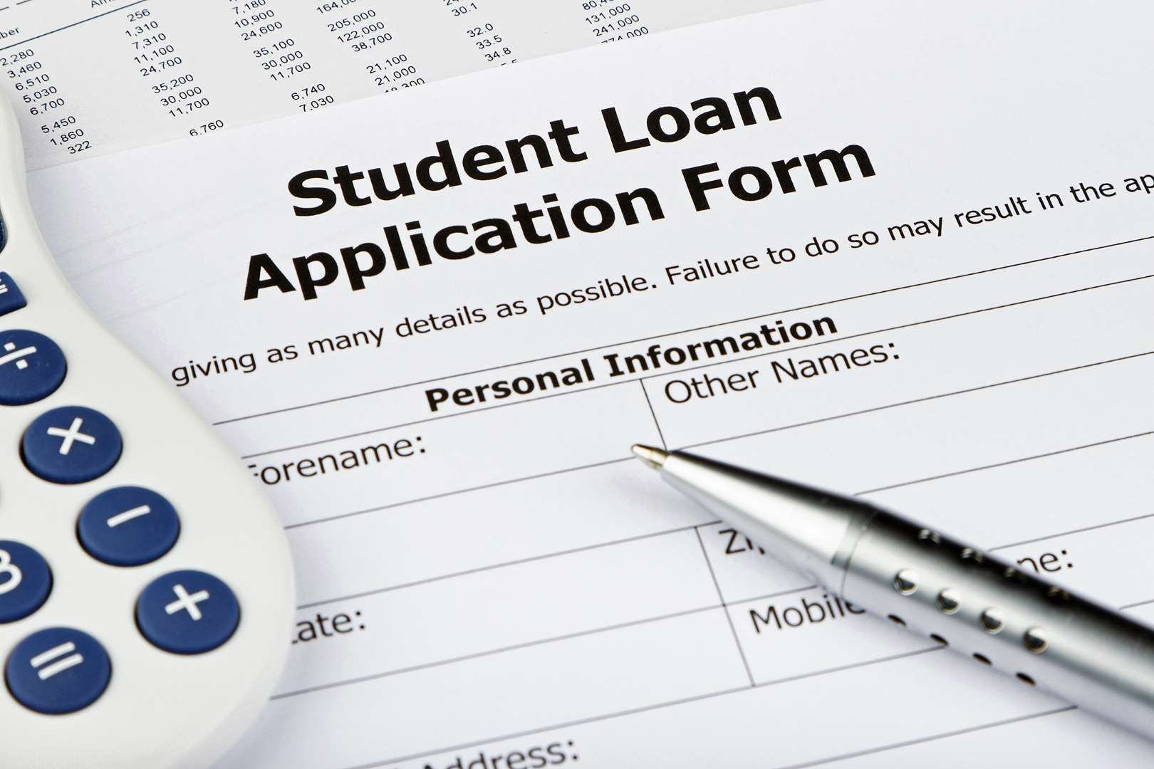 Student Loan Application Form  Nigel CarseGetty Images  Life
