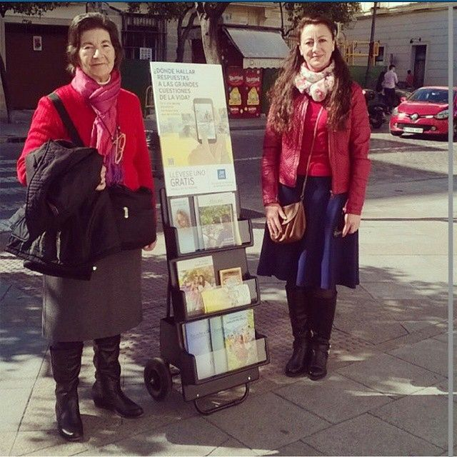 Our sisters in Cart witnessing in Andalucia,Spain