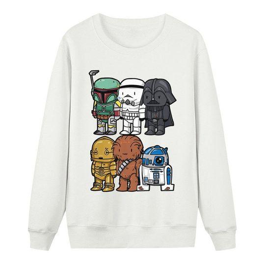 Star Wars Womens Printed Fleece Sweatshirt