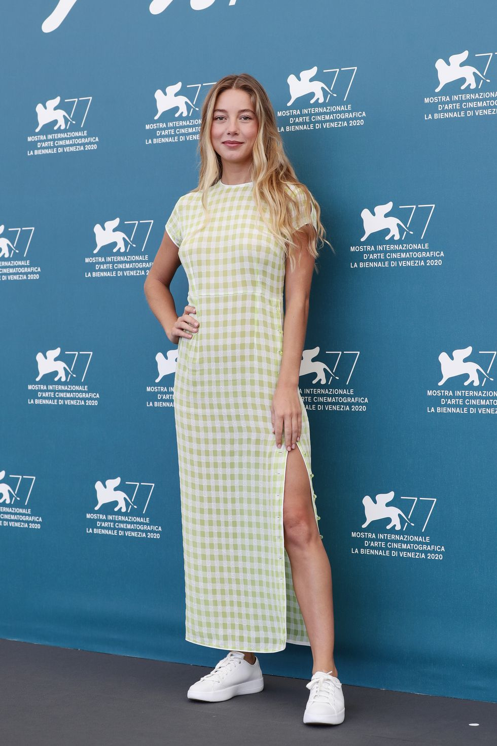 CHARLOTTE VEGA at Mosquito State Photocall at 77th Venice