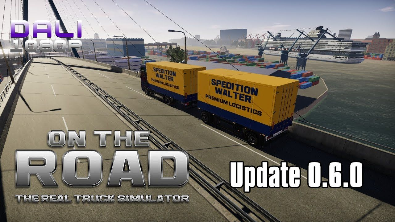 on the road truck simulator update 0 6 0 rc1 all jimmy. Black Bedroom Furniture Sets. Home Design Ideas