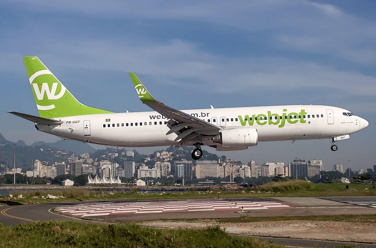 Boeing 737-8EH (Webjet) | Brasil