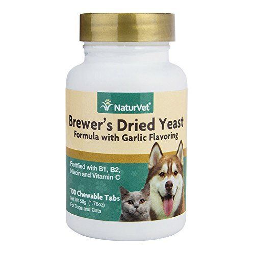 Naturvet Brewers Dried Yeast Formula Plus Vitamins Tablets For Dogs And Cats 500count Chewable Tablets You Can Find Out Cat Vitamins Can Dogs Eat Dry Yeast