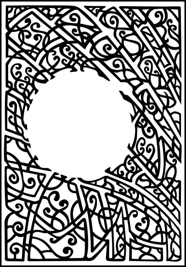 art nouveau lines   Art nouveau coloring pages   Art is Everything ...