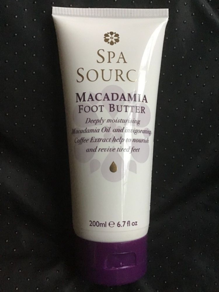 a6cf1392 Spa Source Macadamia Foot Butter Thick Cream 6.7 Oz #SpaSource ...