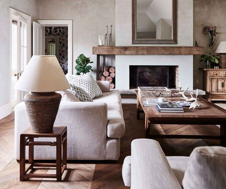 22 Of The Most Beautiful Country Style Living Rooms Homes To Love In 2020 Country Style Living Room Farm House Living Room Home Living Room