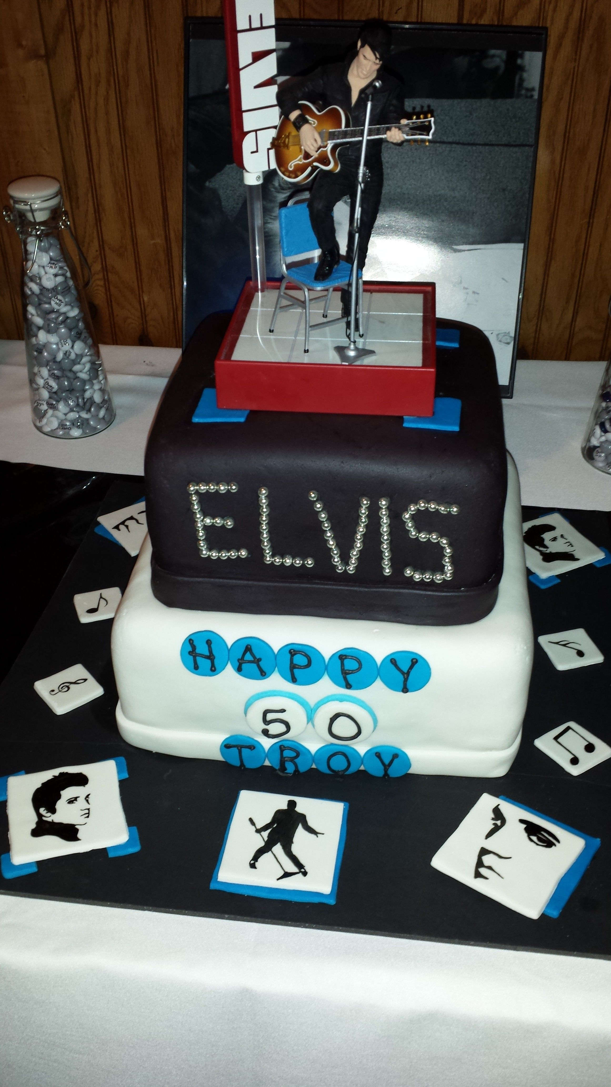 Elvis Cake We Had For My Dads 50Th Birthday Party