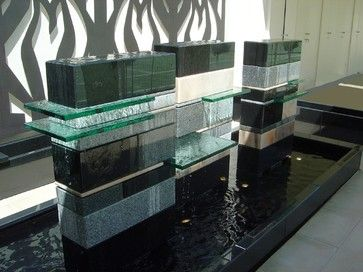 Modern Indoor And Outdoor Water Features And Fountains