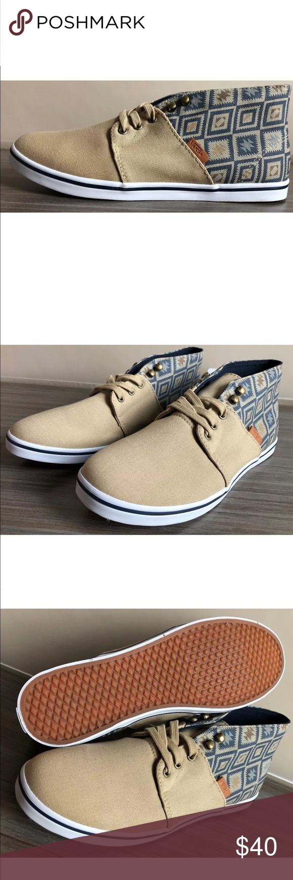 ee5422fbb8 Vans Women s Camryn Slim Native Chukka Shoes NEW AUTHENTIC Vans Camryn Slim  (Native) Shoes SIZE WOMEN S 10 US COLOR  Taose Taupe Ombre Blue Vans Shoes  ...