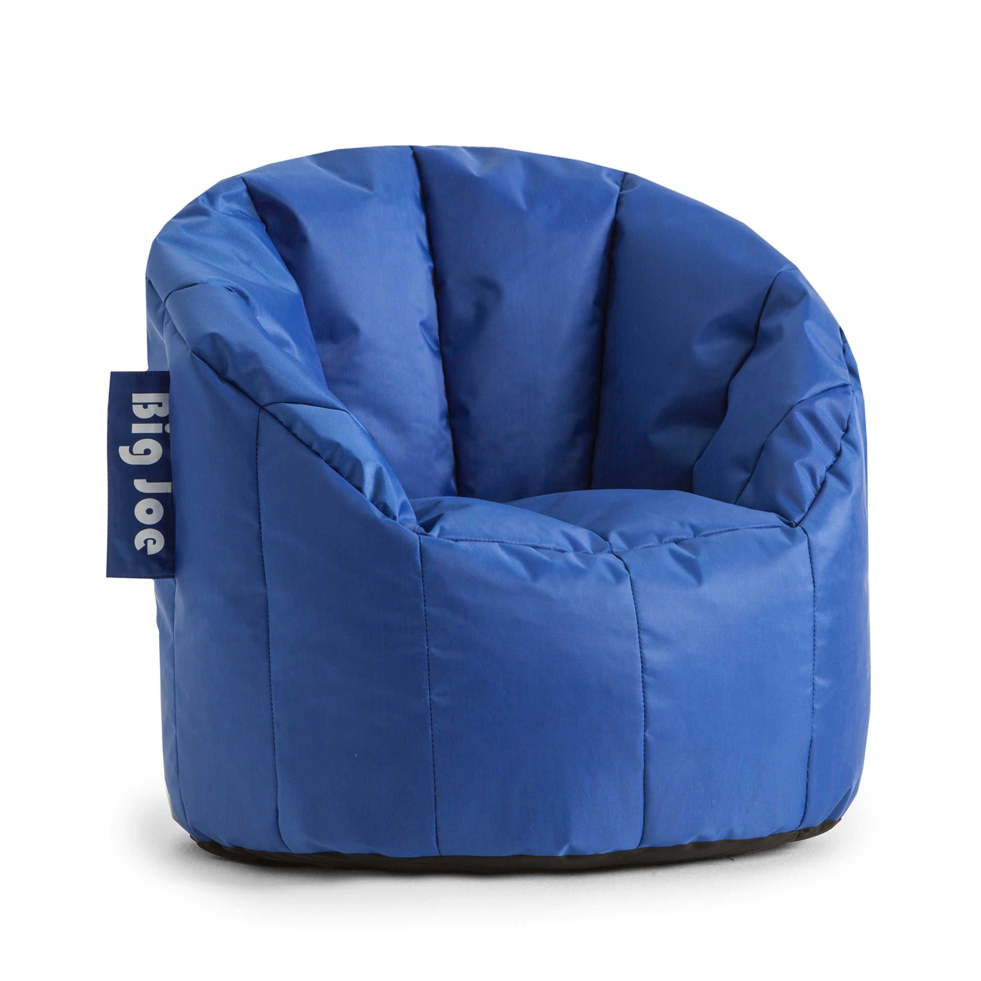 Comfort Research Big Joe Kids Lumin Chair in Sapphire