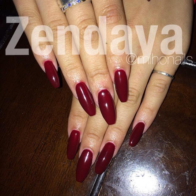 Zendaya Media on (With images) | Zendaya nails, Nails ...