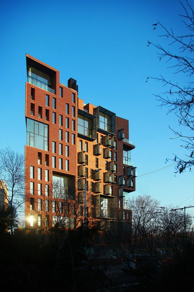 Gallery Of Red Apple Apartment Building / Aedes Studio   6