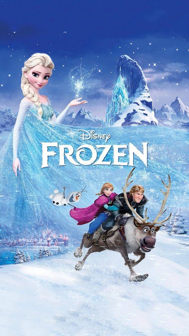 entertainment frozen disney iPhone 5s Wallpaper