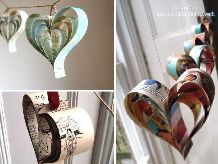 Diy Paper Craft Home Decor Tips Decorazilla Design Blog Unique Wedding Accessories Unique Wedding Receptions Unusual Weddings