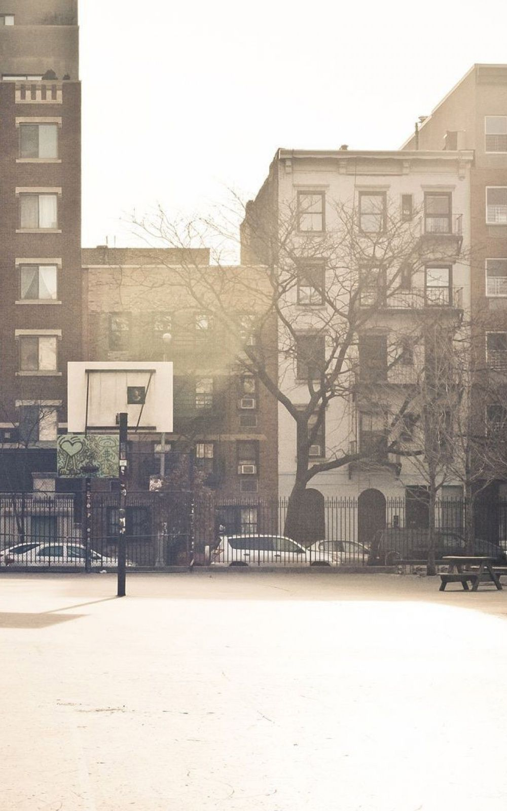 City Basketball Court Mobile Wallpaper Iphone Android Samsung Pixel Xiaomi In 2020 Iphone Wallpaper Android Wallpaper Sunset Images