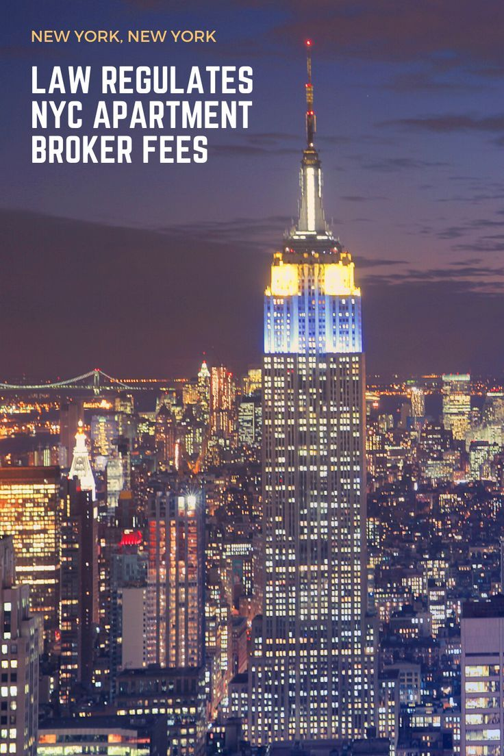 Nyc Law Regulates Tenants Broker And Security Fees Visiting Nyc