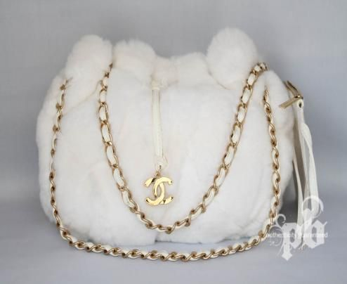 8949cd57d7d2 Chanel Chinchilla White Fur Handbag. 8/6   Inspirational Journal ...