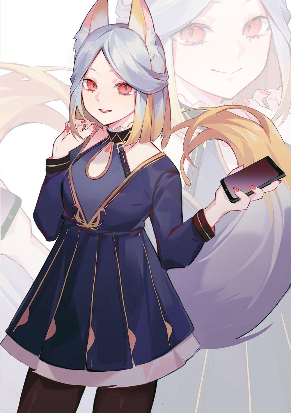 4(ж) - 307 фотографий   Personagens de anime, Neko-girl