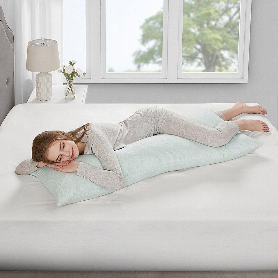 Sleep Philosophy Memory Foam Body Pillow Ivory Memory Foam Body Pillow Memory Foam Pillow Body Pillow