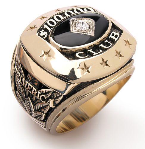 Primerica 100000 Club Ring Buisness Ideas Business Rings