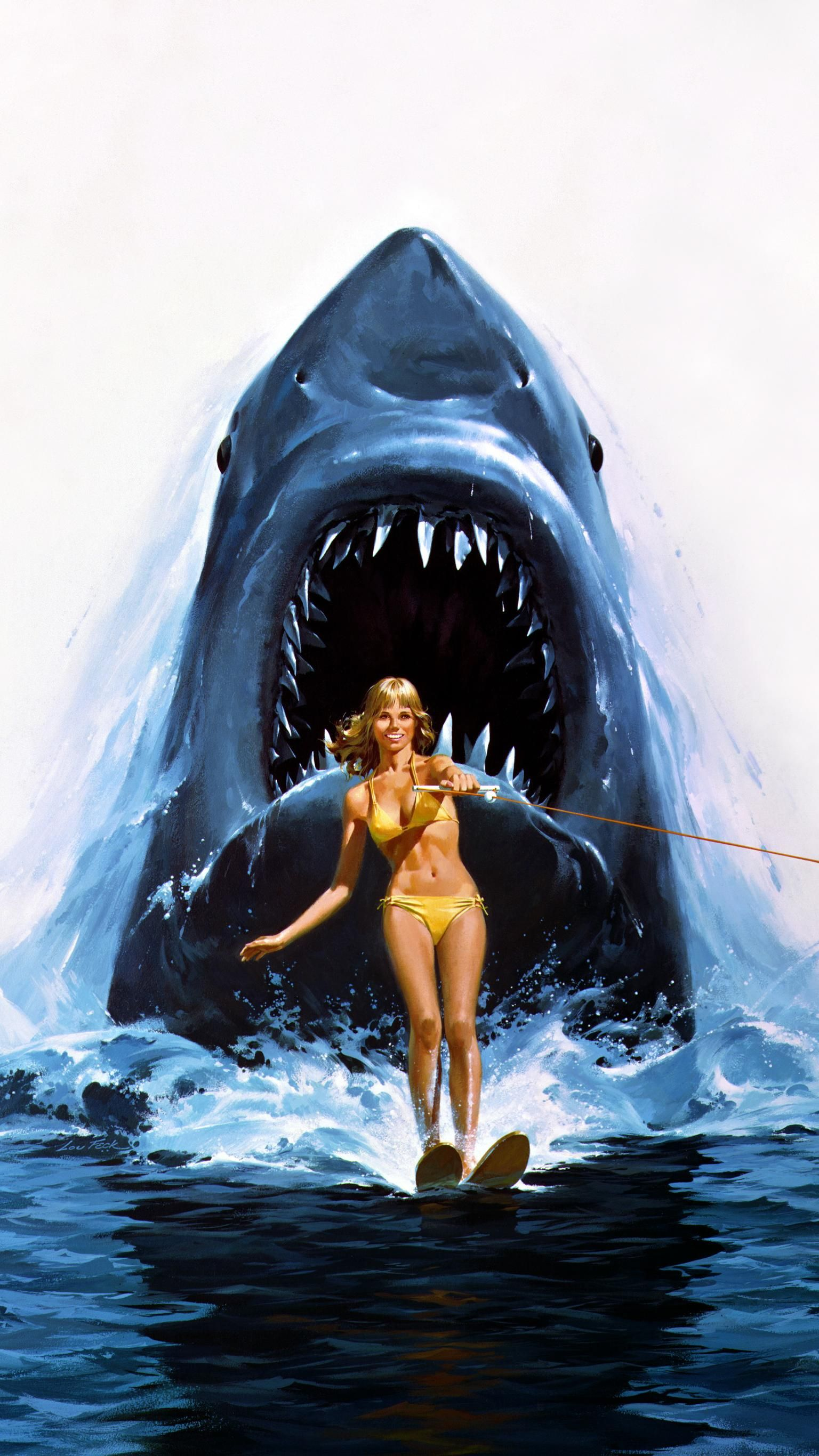 Pin On Jaws 2 1978