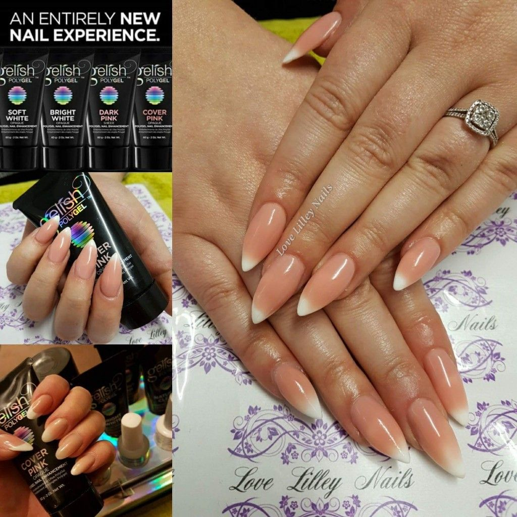 Gelish Polygel Baby Boomer Nails Love This New Amazing Product Polygel Gelish Polygelnails Lovelilleynails Nails Nails Polygel Nails Nails Inspiration