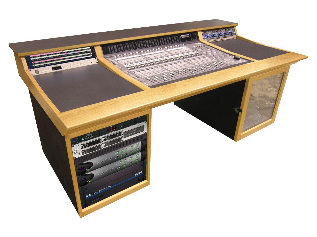 Supply C 24s1 2 Straight Console 1 Desk For Avid C24 Full Comp