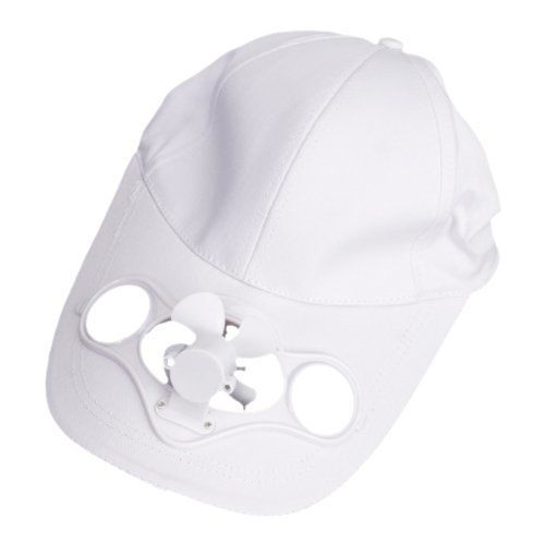 Solar Powered Air Fan Cooled Baseball Hat W Solar Panel On The Cap Front Eco Friendly Camping Traveling Air Fan Solar Powered Fan Solar Panels