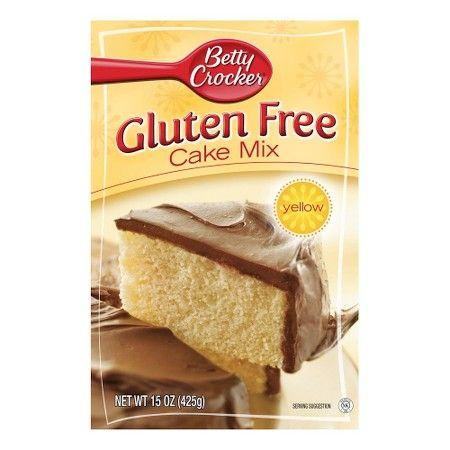 Betty Crocker Gluten Free Yellow Cake Mix 15oz Gluten Free Yellow Cake Mix Betty Crocker Gluten Free Cake Mix
